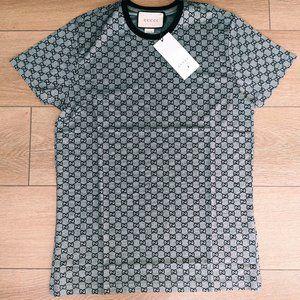 Gucci Men's Short Sleeve T-shirt New Season Cotton